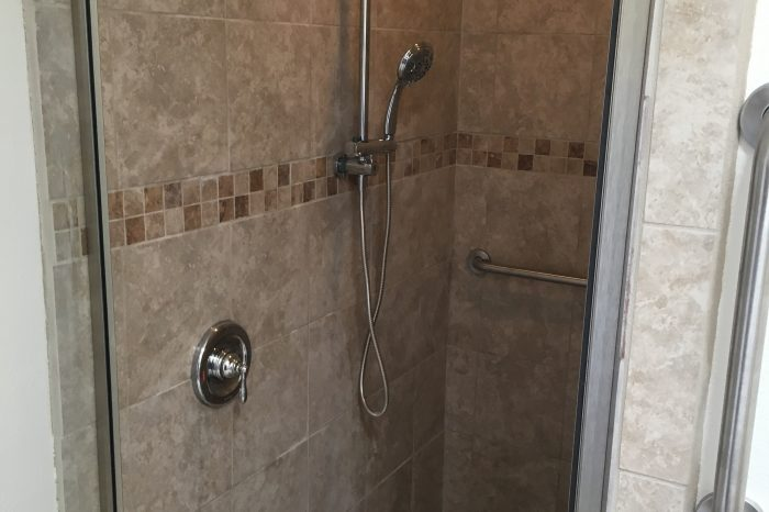 General Construction Accessibility Bathroom Remodel