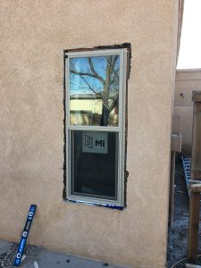 Home Stucco Repair Before